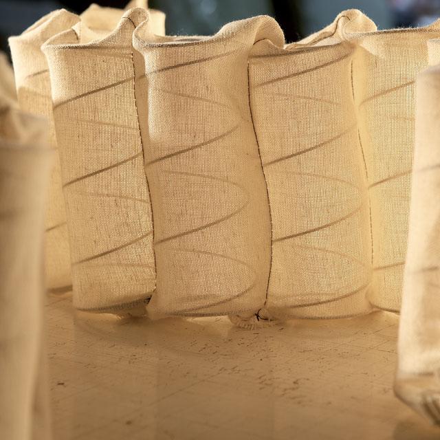 Υλικό - Ελατήρια cotton calico pocket springs